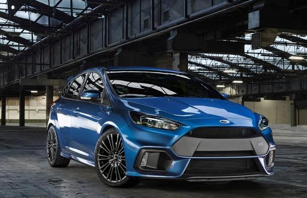 Ford Focus RS 2016 (Foto: Divulgação)