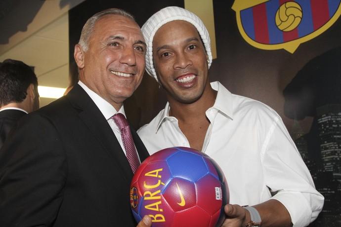Ronaldinho Stoichkov Barcelona (Foto: EFE)
