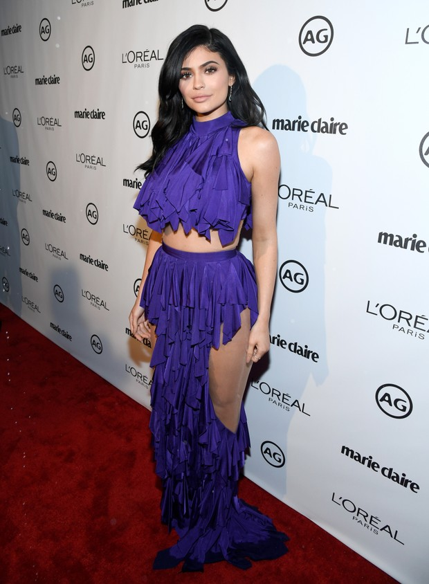 Kylie Jenner em evento em Los Angeles, nos Estados Unidos (Foto: Matt Winkelmeyer/ Getty Images/ AFP)