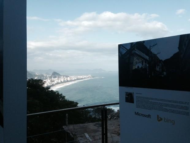 Moradores do Vidigal contribuíram com fotos para o projeto 'Na Área' que mapeia estabelecimentos públicos e comerciais (Foto: Isabela Marinho/ G1)