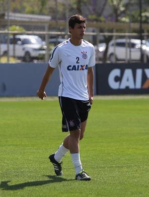 Marciel treino Corinthians (Foto: Ricardo Taves/Ag. Corinthians)