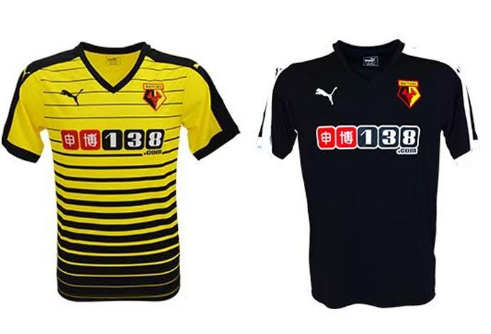 Camisas Watford