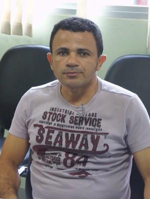 Josivaldo Alves, presidente do CSP (Foto: Lucas Barros / Globoesporte.com/pb)