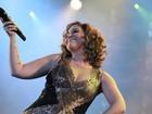 Maria Rita chama atenção com quilos a mais durante apresentação no Rio