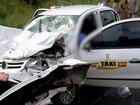 Idoso morre e cinco ficam feridos após acidente na BR-101, na Bahia