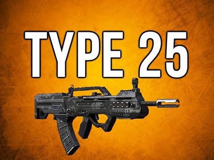 Type 25 é um dos rifles mais rápidos do game (Foto: Reprodução/YouTube)