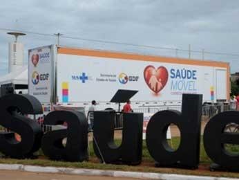 Carreta da Mulher do DF (Foto: Mary Leal/Agência Brasília)