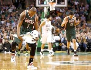 Caron Butler gozação comemoração NBA (Foto: Reprodução)