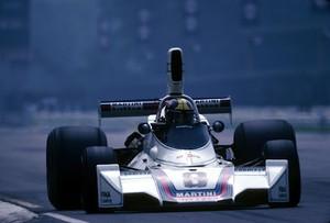 José Carlos Pace com sua Brabham em 1975 (Foto: Divulgação)