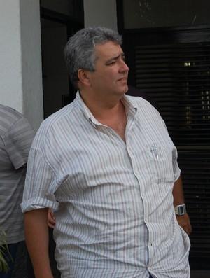 Adriano Wanderley, vice-presidente de futebol do Botafogo-PB (Foto: Lucas Barros / Globoesporte.com/pb)