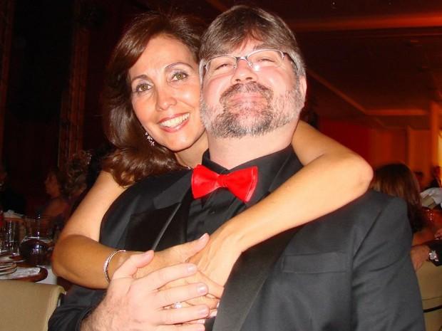 Darrell e Rosângela se encontraram anos após sonho e estão juntos há 25 anos (Foto: Arquivo Pessoal/ Darrell Champlin)
