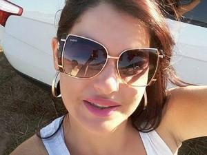 Sandra Godoy, de 29 anos, está desaparecida (Foto: Arquivo pessoal/ Letícia Godoy)