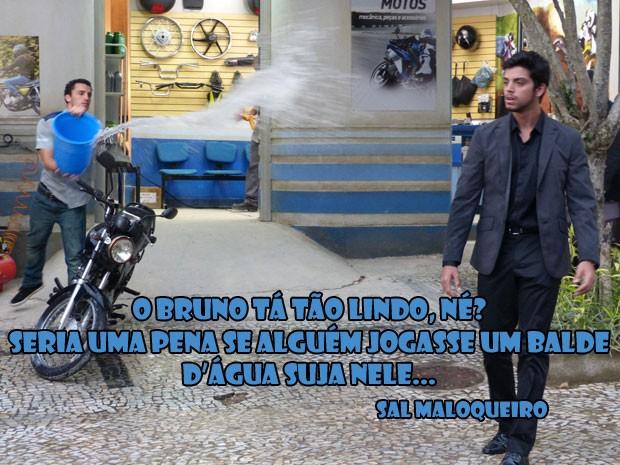 Ngm merece esse Sal, hein glr! Olha o que ele vai aprontar agora... (Foto: Malhação / Tv Globo)