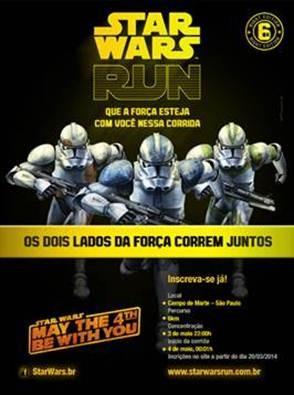 star wars run (Foto: divulgação)