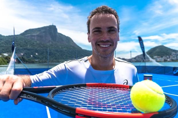 Bruno Soares pronto para encarar mais uma edição do Rio Open (Foto: Divulgação)