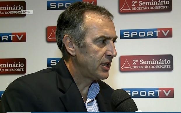 Diretor de esportes olímpicos do Fla vê dificuldades em revelar novos talentos  (Foto: Reprodução SporTV)