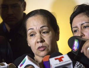 luta.livre funeral Pedro Aguayo Ramirez mãe Ruth Rodriguez (Foto: AFP)
