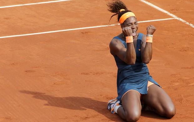 serena williams campeã roland garros tenis final (Foto: Reuters)