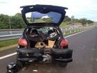 Envolvido em acidente em rodovia continua internado em estado grave