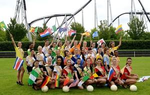 candidatas a Miss Copa do Mundo na Alemanha (Foto: AFP)