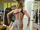 Marinara Costa treina para participar de concurso fitness no Rio neste domingo, 28