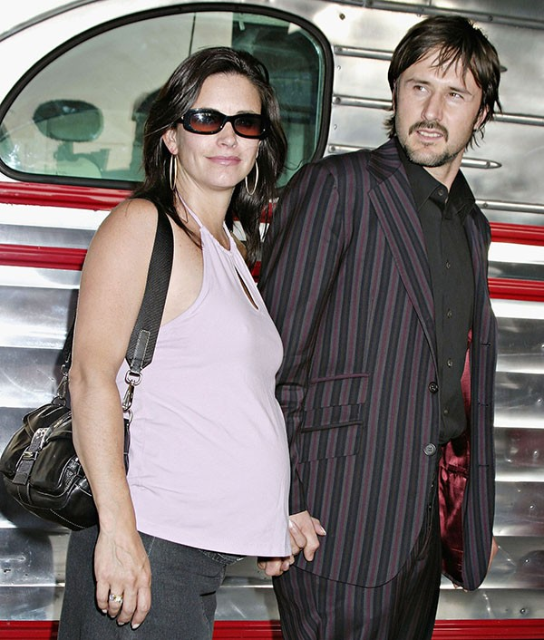 Courteney Cox e David Arquette em 2004 (Foto: Getty Images)
