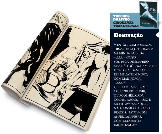 DOMINA&#199;&#195;O (Foto: Ilustra&#231;&#227;o: Farrell)