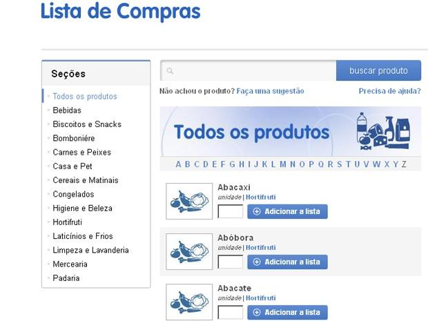 Lista de compras (Foto: Mais Você / TV Globo)