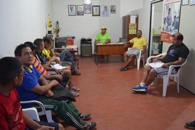 Reunião Liga Esportiva de Santarém (Foto: Weldon Luciano/GloboEsporte.com)