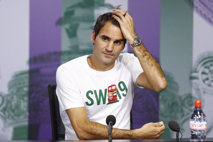 Roger Federer, Wimbledon, tênis (Foto: EFE)