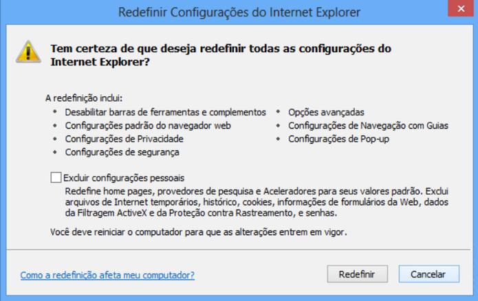 Passo a passo ajuda a resolver erro do Internet Explorer (Foto: Divulgação / Microsoft)