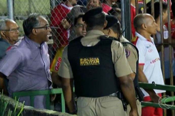 Uberaba Sport, técnico, Wantuil Rodrigues (Foto: Reprodução/TV Integração)