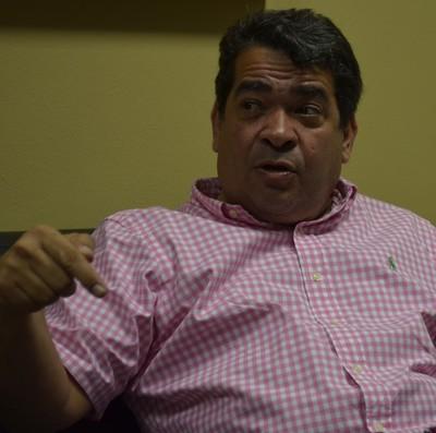 Amadeu Rodrigues, presidente da Federação Paraibana de Futebol (Foto: Amauri Aquino / GloboEsporte.com/pb)