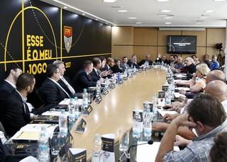 Conselho Arbitral da Série A3 foi realizado na sede da FPF (Foto: Rodrigo Corsi / FPF)