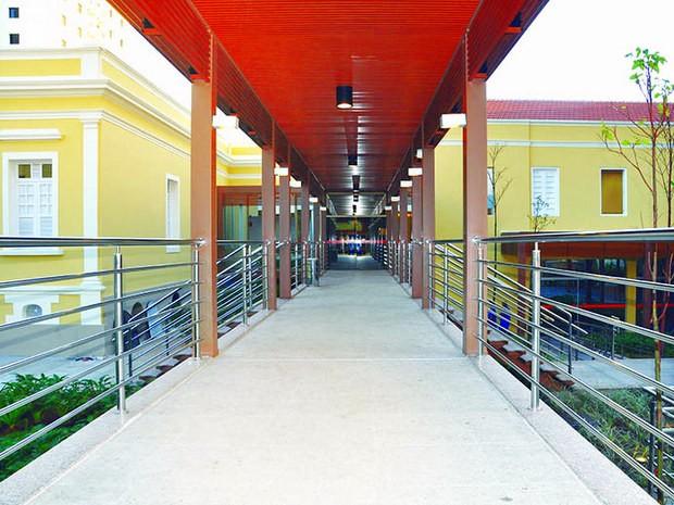 Casarão que hospedava Oswald de Andrade em Piracicaba é revitalizado (Foto: Divulgação/Senac Piracicaba)