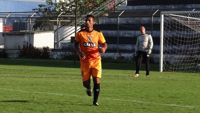 Edson Veneno, zagueiro do ASA (Foto: GloboEsporte.com; Futebol; Alagoas; ASA; Edson Veneno; Zagueiro)