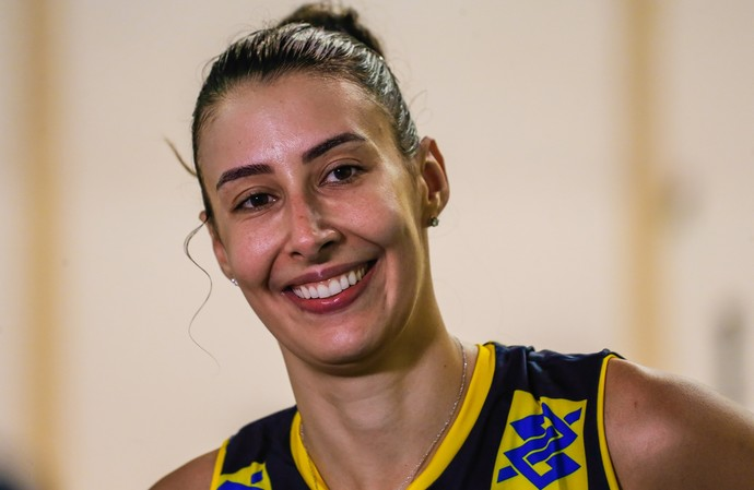 Sheilla, seleção brasileira feminina de vôlei (Foto: Marcelo Régua/Inovafoto/CBV)