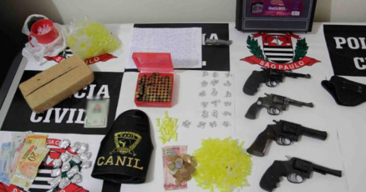 Cinco pessoas são detidas em ação da Polícia Civil e GCM de ... - Globo.com