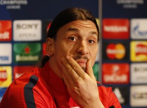 Ibrahimovic, Paris Saint-Germain (Foto: Reuters / John Sibley)