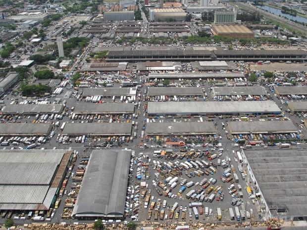 Prefeitura quer tirar Ceagesp da Zona Oeste de São Paulo (Foto: Paulo Toledo Piza/G1)