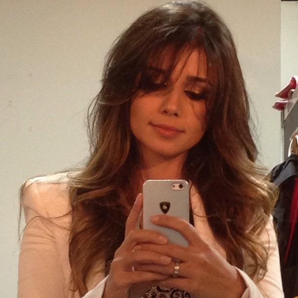 Paula Fernandes posta foto com novo visual (Foto: Instagram / Reprodução)