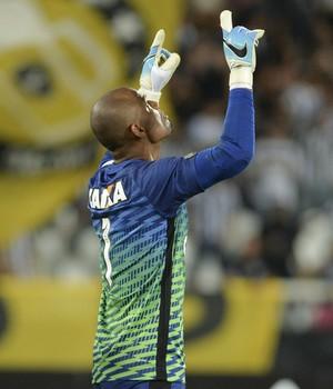 Jefferson Botafogo Atlético-MG (Foto: CELSO PUPO/FOTOARENA/ESTADÃO CONTEÚDO)