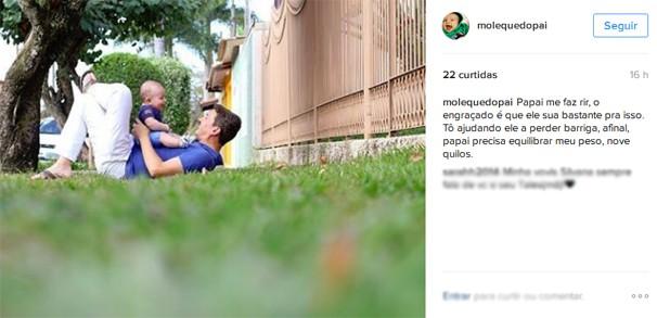 Repórter criou a página Moleque do Papai para compartilhar experiências e cliques (Foto: Arquivo pessoal/ divulgação)