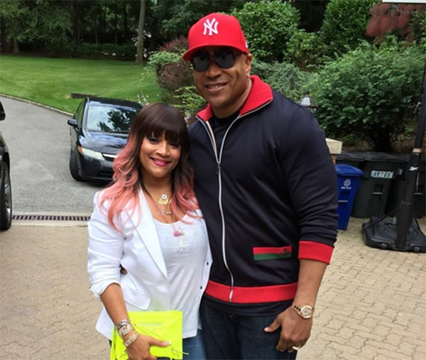 LL Cool J e Simone Johnson (Foto: Instagram)