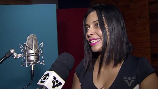Keity Carolin participou do quadro Iluminados (Foto: Reprodução/TV Tribuna)