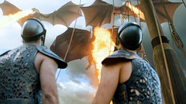Batalha em Meeren, em Game of Thrones (Foto: Divulgação/HBO)