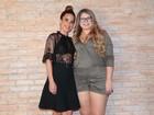 Wanessa e Marília Mendonça falam de fotos de lingerie: 'Nervosas'