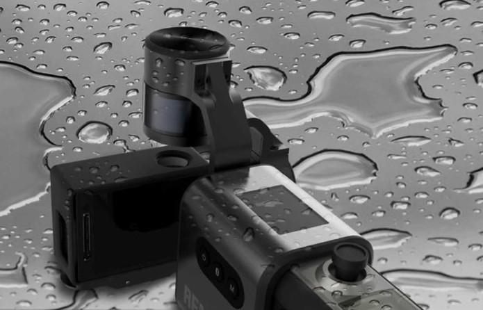 Acessório pode ser usado em climas extremos e é a prova de chuva (Foto: Reprodução/Indiegogo)