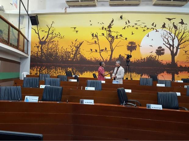 Aprovação do reajuste ocorreu na última sessão ordinária do ano em Cuiabá (Foto: Denise Soares/G1)