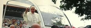 5 momentos do Papa Francisco em Aparecida (Reprodução/TV Rio Sul)